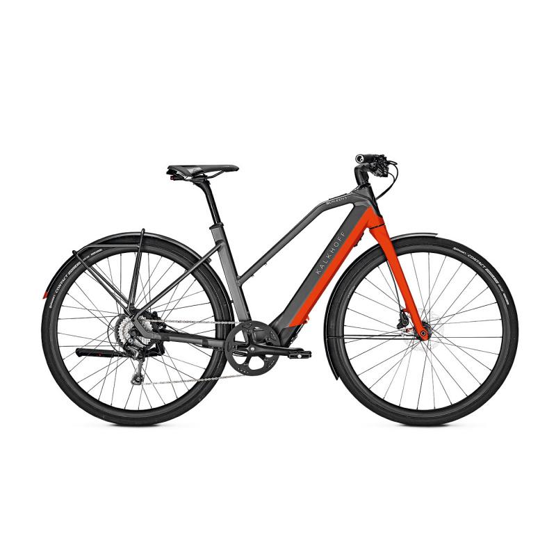 Kalkhoff Berleen 5.G Advance 252 Electrische fiets Trapezium Rood 2021 (637627015-7)