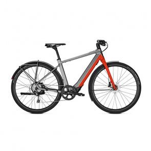 Vélo Electrique Kalkhoff Berleen 5.G Advance 252 Gris/Rouge 2020 (637627011-4)  (637627011)