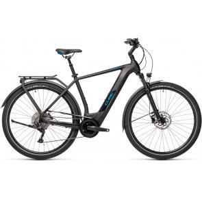 Cube 2021 Vélo Electrique Cube Kathmandu Hybrid Pro 625 Noir/Bleu 2021 (431202)