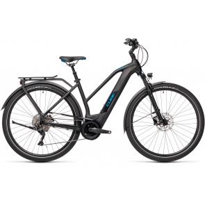 Cube 2021 Vélo Electrique Cube Kathmandu Hybrid Pro 625 Trapèze Noir/Bleu 2021 (431202)