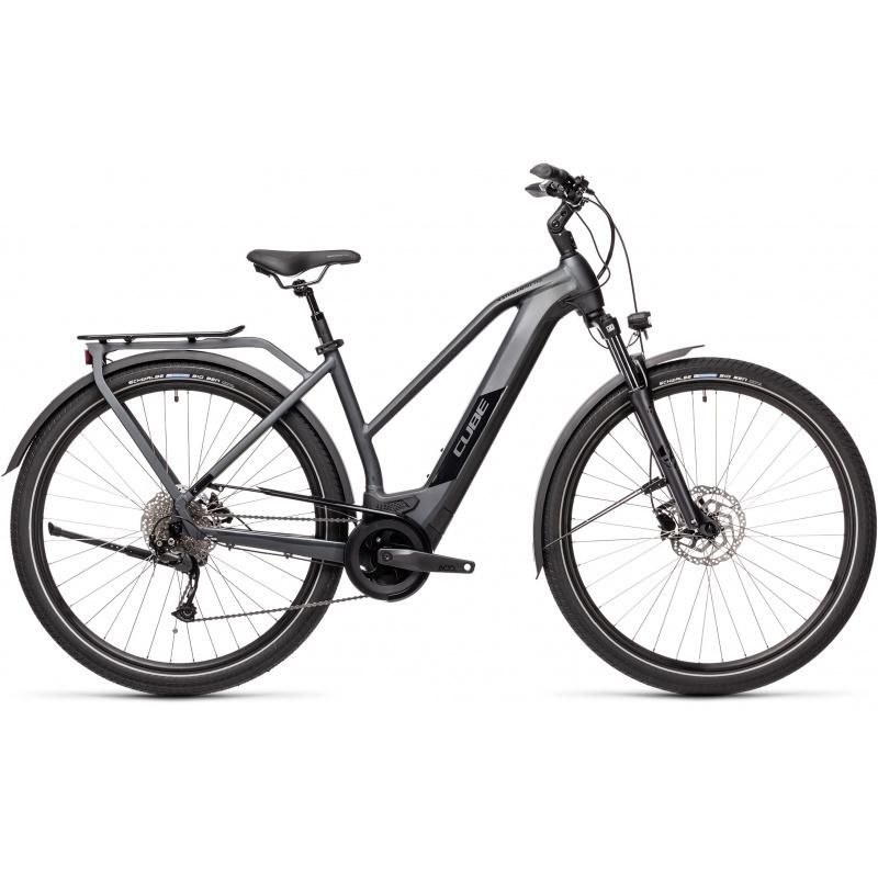 Vélo Electrique Cube Kathmandu Hybrid One 625 Trapèze Iridium/Noir 2021 (431172)