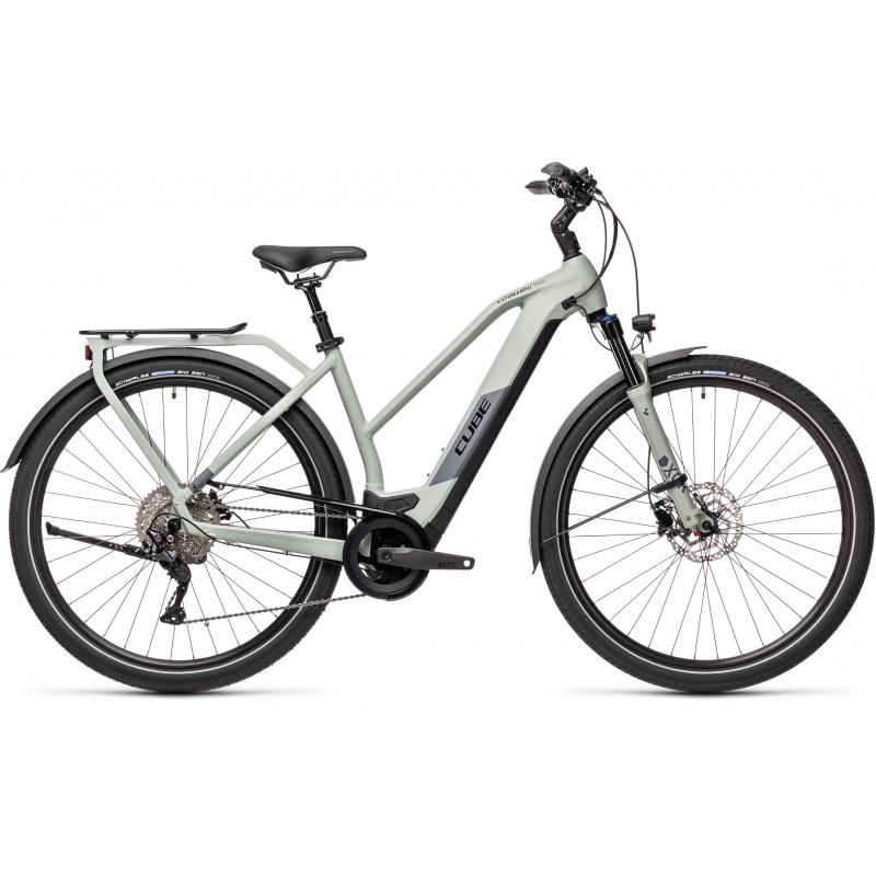 Vélo Electrique Cube Kathmandu Hybrid Pro 625 Trapèze Gris 2021 (431212)