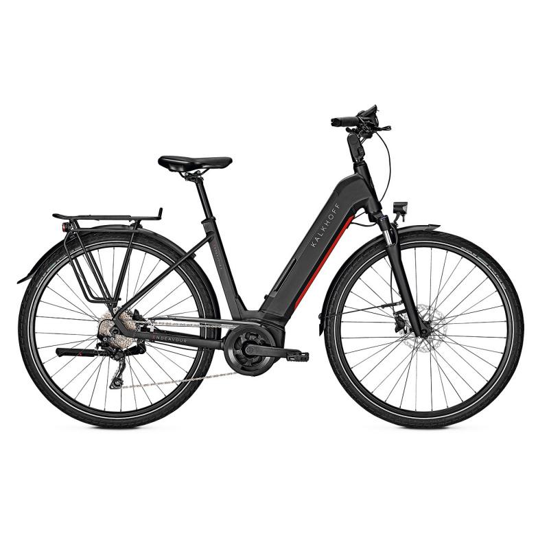 Vélo Electrique Kalkhoff Endeavour 5.B Season 625 Easy Entry Noir Mat 2021 (641528135-7)  (641528135)