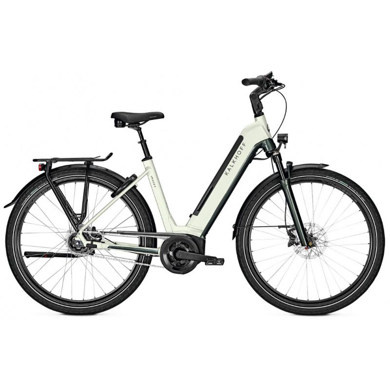 Vélo Electrique Kalkhoff Image 5.B Move+ 625 Easy Entry Blanc/Vert 2021 (641528475-7) (641528475)