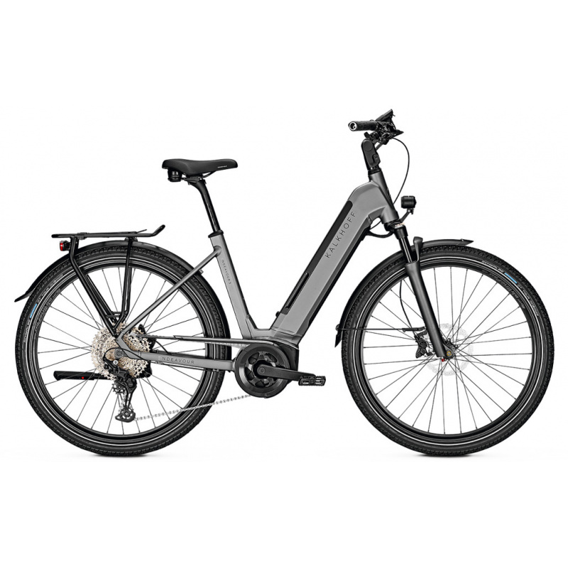 Kalkhoff Endeavour 5.B Advance 625 Elektrische fiets Easy Entry Mat Grijs 2021 (641528055-8)