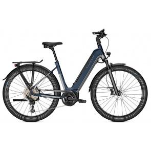 Kalkhoff 2021 Vélo Electrique Kalkhoff Endeavour 5.B Advance+ 625 Easy Entry Gris/Bleu Mat 2021 (641528075-8) (641528075)