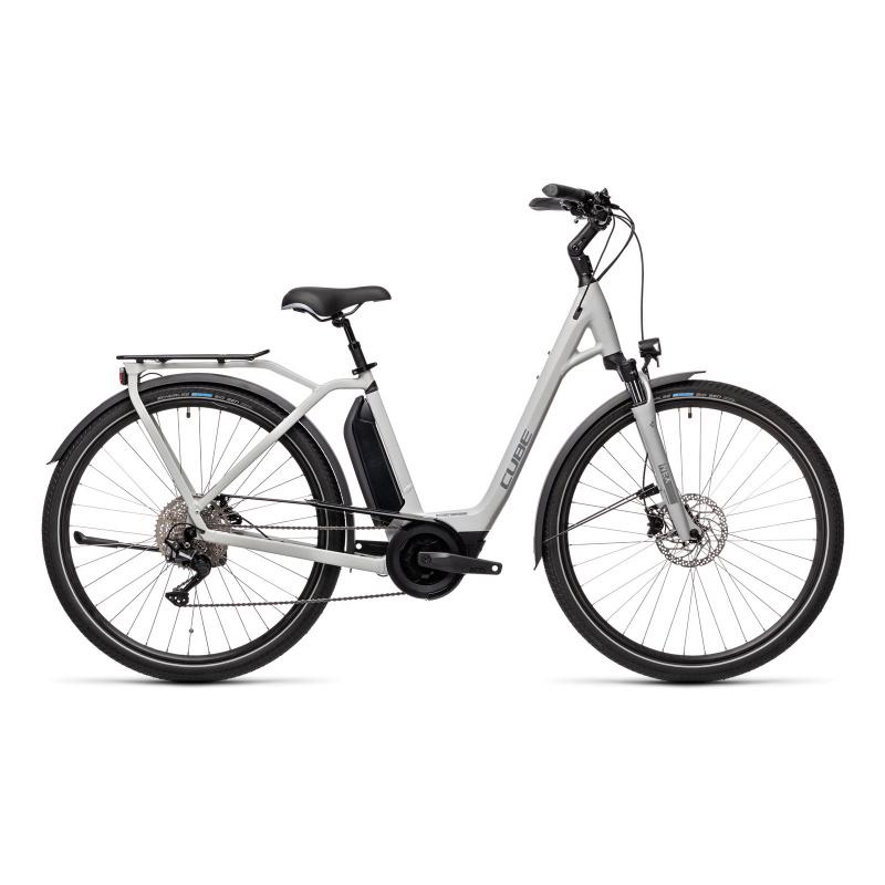 Vélo Electrique Cube Town Sport Hybrid Pro 500 Easy Entry Gris/Gris 2021 (432401)