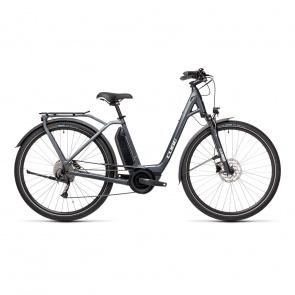 Cube 2021 Vélo Electrique Cube Town Sport Hybrid One 500 Easy Entry Iridium/Gris 2021 (432351)
