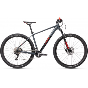 Cube 2021 Cube Attention 27.5'' MTB Grijs/Rood 2021