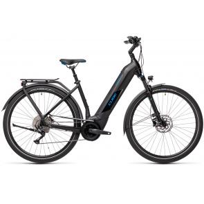 Cube 2021 Vélo Electrique Cube Kathmandu Hybrid Pro 625 Easy Entry Noir/Bleu 2021 (431202)
