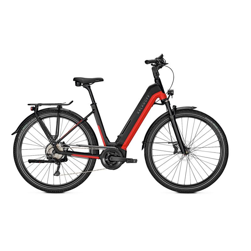 Vélo Electrique Kalkhoff Endeavour 5.B Move+ 625 Easy Entry Rouge/Noir 2021 (641528115-7)  (641528115)