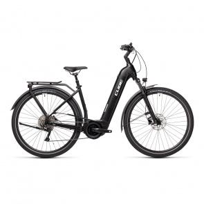 Cube 2021 Vélo Electrique Cube Touring Hybrid Pro 625 Easy Entry Noir/Blanc 2021 (431102)