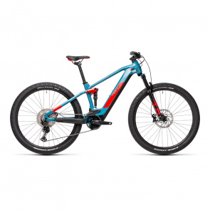 Cube Stereo Hybrid 120 Race 625 Electrische 29'' MTB Blauw/Rood 2021
