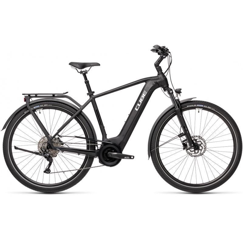 Vélo Electrique Cube Touring Hybrid Pro 625 Noir/Blanc 2021 (431102)