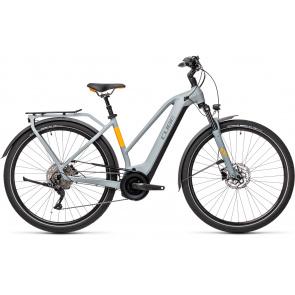 Cube 2021 Vélo Electrique Cube Touring Hybrid Pro 625 Trapèze Gris/Orange 2021 (431112)