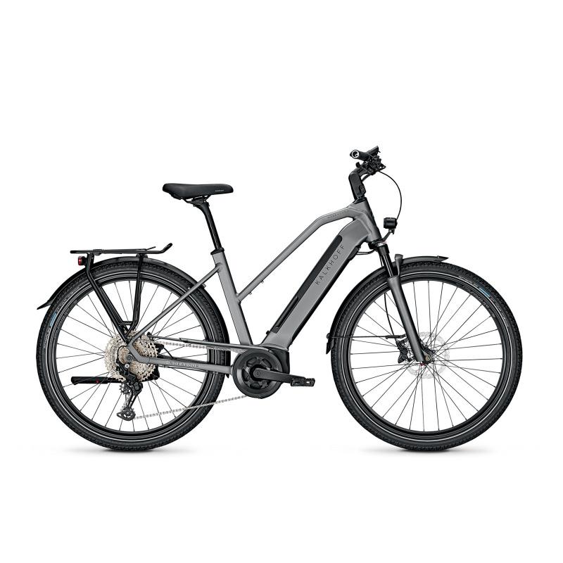 Vélo Electrique Kalkhoff Endeavour 5.B Advance 625 Trapèze Gris Mat 2021 (641528045-7) (641528045)