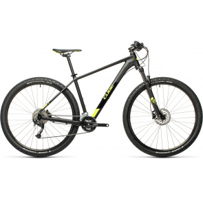 "Cube 2021 VTT 27.5"" Cube Aim EX Noir/Jaune Flash 2021 (401450)"