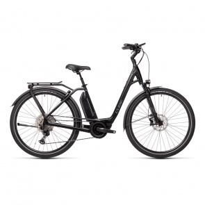 Cube 2021 Vélo Electrique Cube Town Sport Hybrid EXC 500 Easy Entry Noir/Gris 2021 (432451)