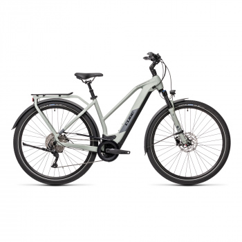 Vélo Electrique Cube Kathmandu Hybrid Pro 500 Trapèze Gris 2021 (431211)