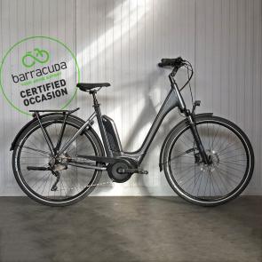 Vélo Electrique Occasion Cube Cross Hybrid Pro 400 Rouge/Gris 2019