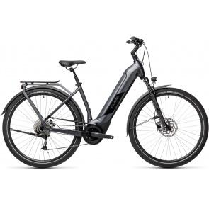 Cube 2021 Vélo Electrique Cube Kathmandu Hybrid One 500 Easy Entry Iridium/Noir 2021 (431171)