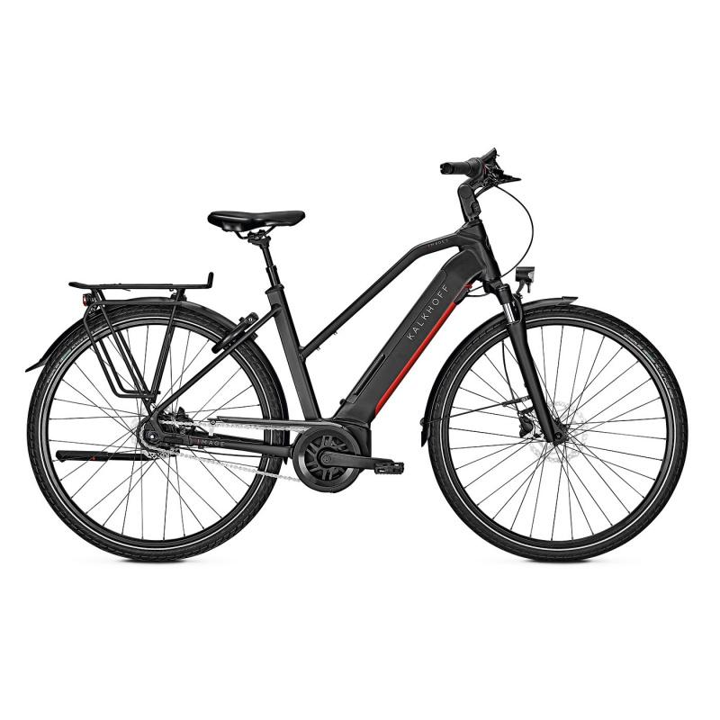 Vélo Electrique Kalkhoff Image 5.B Season 625 Trapèze Noir Mat 2021 (641528525-7) (641528525)