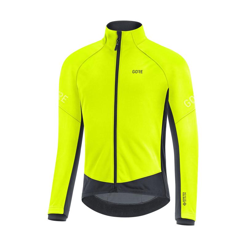 Veste Gore Wear C3 GTX Infinium Thermo 2020-2021 (100644) Jaune Neon/Noir