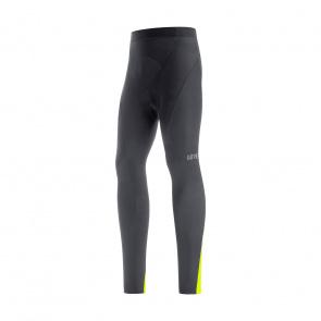 Gore Wear Gore Wear C3 Thermo Lange Fietsbroek zonder Bretellen Zwart/Neon Geel 2021-2021 (100649)