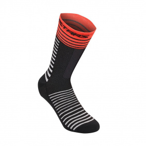 Alpinestars Chaussettes Alpinestars Drop High Noir/Rouge 2020-2021