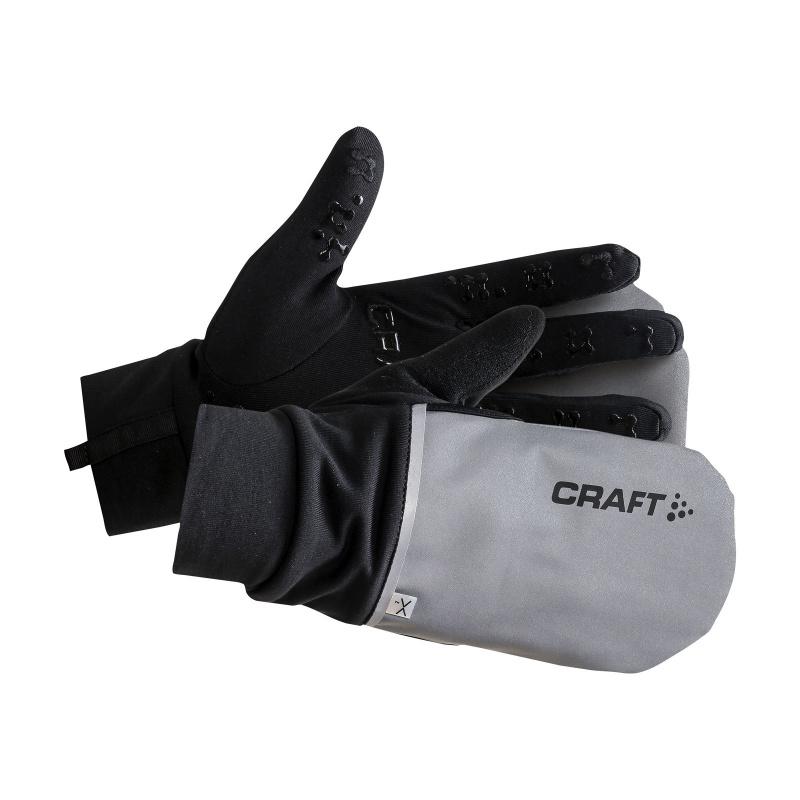 Craft Hybrid Weather Handschoenen Grijs/Zwart 2021-2021 (1903014-926999)