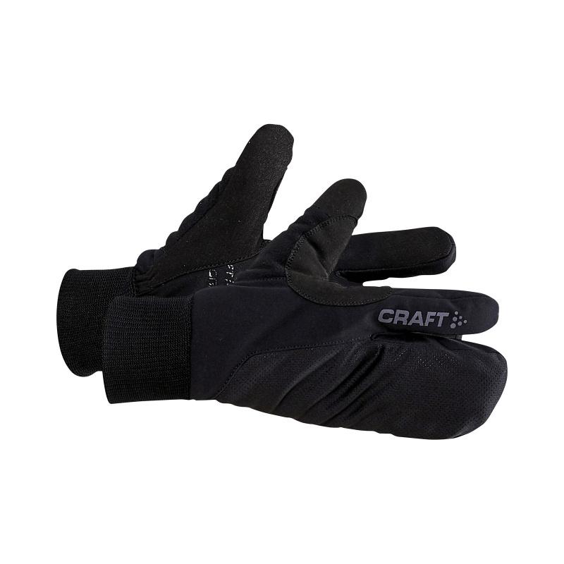 Craft Split Finger Handschoenen Zwart 2021-2021 (1909891-999000)