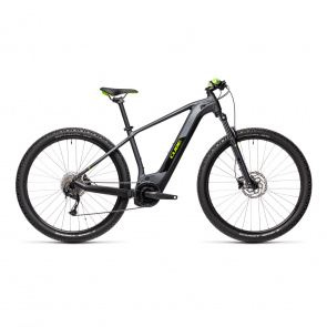 Cube 2021 Cube Reaction Hybrid Performance 500 Elektrische 29'' MTB Iridium/Groen 2021