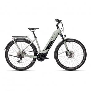 Cube 2021 Vélo Electrique Cube Kathmandu Hybrid Pro 500 Easy Entry Gris 2021