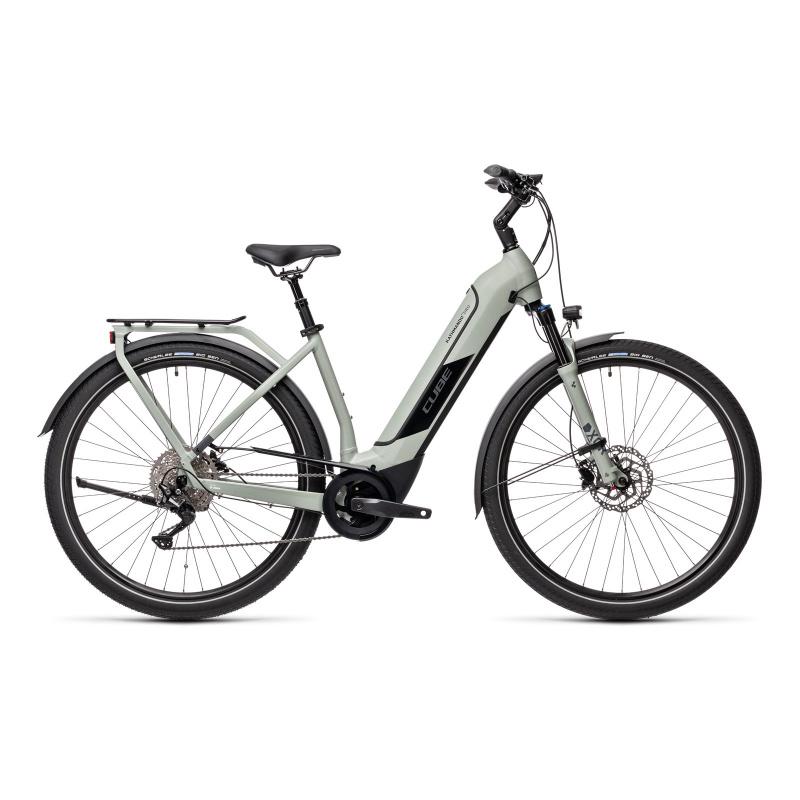 Vélo Electrique Cube Kathmandu Hybrid Pro 500 Easy Entry Gris 2021 (431211)