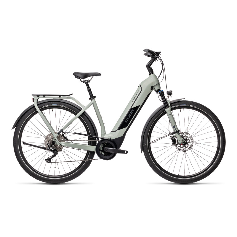 Vélo Electrique Cube Kathmandu Hybrid Pro 500 Easy Entry Gris 2021