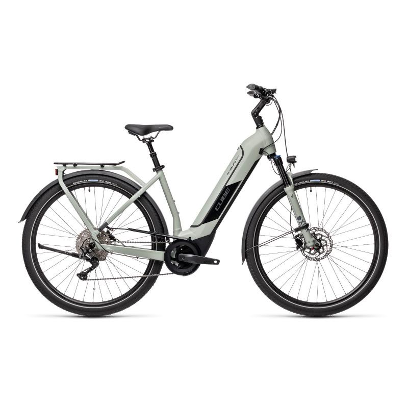 Vélo Electrique Cube Kathmandu Hybrid Pro 625 Easy Entry Gris 2021 (431212)
