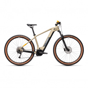 Cube 2021 Cube Reaction Hybrid Performance 500 Elektrische 29'' MTB Beige/Oranje 2021