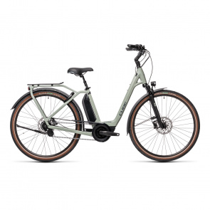 Cube 2021 Vélo Electrique Cube Town Hybrid EXC 500 Easy Entry Gris 2021 (432211)