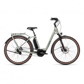 Cube 2021 Vélo Electrique Cube Town Hybrid EXC 500 Easy Entry Gris 2021