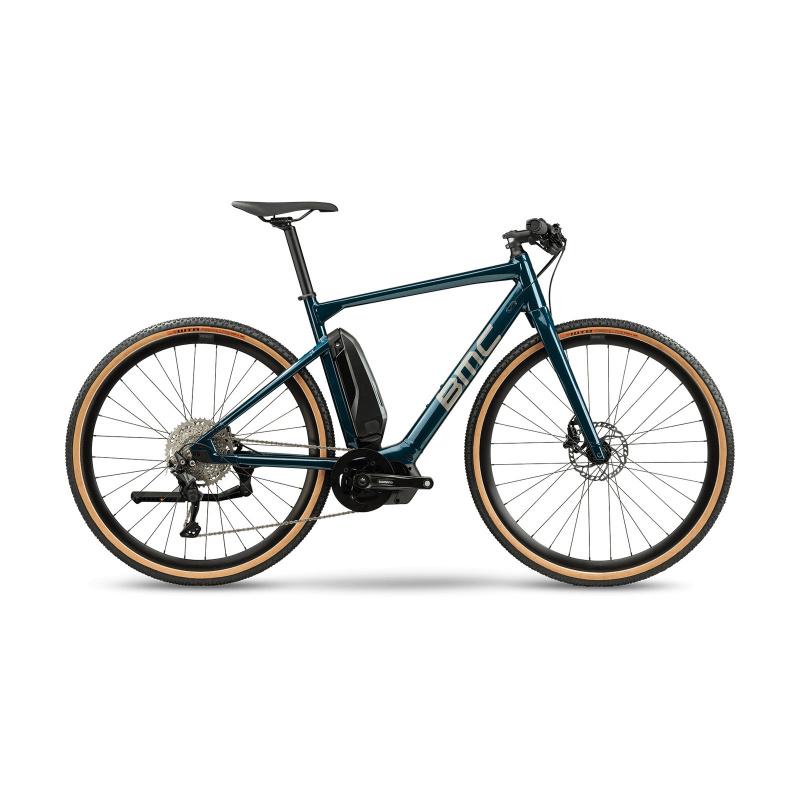 Vélo Electrique BMC Alpenchallenge AMP AL Cross One Pétrole 2021 (30000526-8) (30000526)