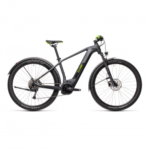 Cube 2021 Cube Reaction Hybrid Performance 500 Elektrische 27.5'' MTB Iridium/Groen Allroad 2021