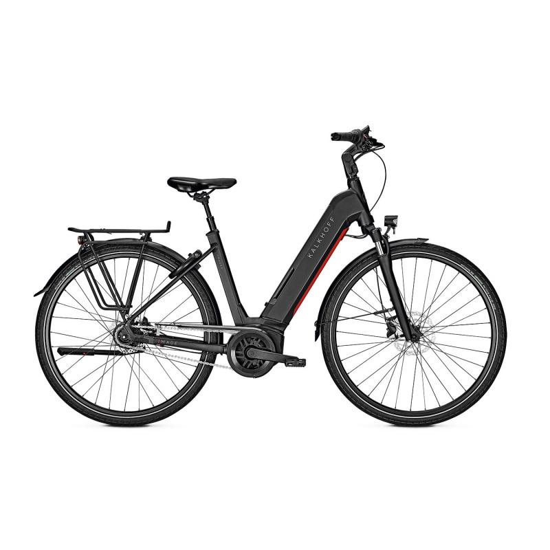 Vélo Electrique Kalkhoff Image 5.B Season 625 Easy Entry Noir Mat 2021 (641528535-8) (641528535)