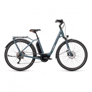 Cube 2021 Vélo Electrique Cube Town Sport Hybrid Pro 500 Easy Entry Bleu/Rouge 2021 (432411)