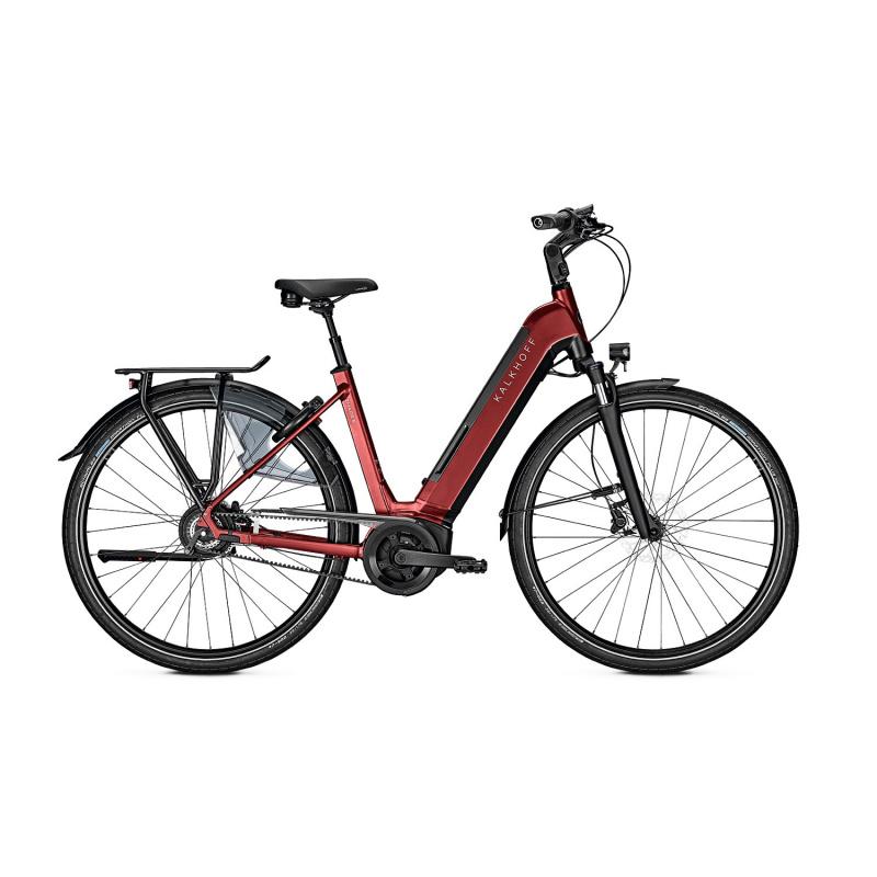 Vélo Electrique Kalkhoff Image 5.B Belt BLX 625 Easy Entry Gris Mat 2021 (637528505-8) (637528505)
