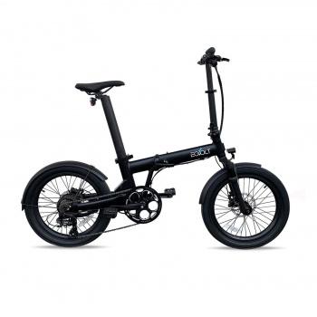 Vélo Electrique Pliable Eovolt Confort X Noir Onyx  (EVO6-7) ((EVO6-7))