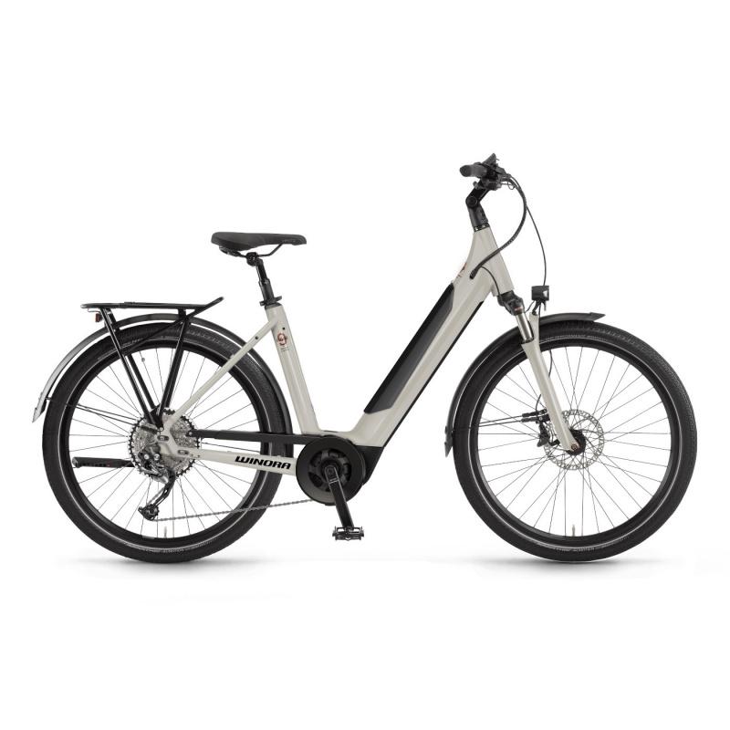 Vélo Electrique Winora Sinus 9 i625 Easy Entry Blanc 2021 (440941)