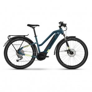Haibike 2021 Vélo Electrique Haibike Trekking 5 i500 Easy Entry Bleu/Jaune 2021 (451001)