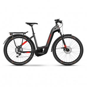 Haibike 2021 Vélo Electrique Haibike Trekking 9 i625 Easy Entry Gris 2021 (451301) (45130146)