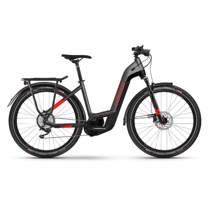 Vélo Electrique Haibike Trekking 9 i625 Easy Entry Gris 2021 (451301) (45130146)