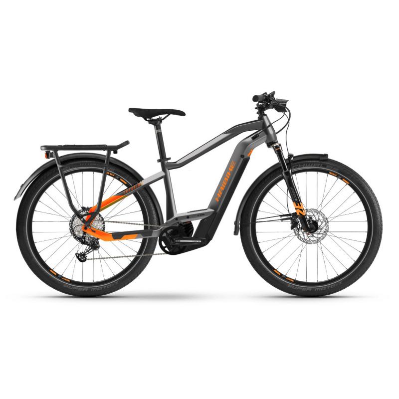 Vélo Electrique Haibike Trekking 10 i625 Unisex Gris 2021 (451321)
